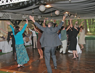 Guests Dancing To The YMCA